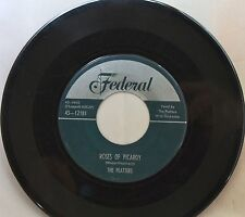 Platters • Rose Of Picardy • Federal 45rpm • early repro
