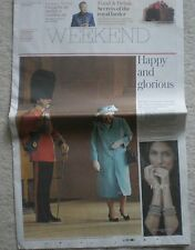 Queen Elizabeth II - Weekend – The Daily Telegraph – Saturday 5 September 2015