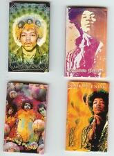 JIMI HENDRIX - FOUR PACKS 1 1/4 cigarette rolling papers with Vibrant Designs!