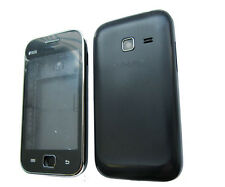 For Samsung Galaxy Ace Duos GT S6802 Fascia Housing Back Battery Cover Black UK