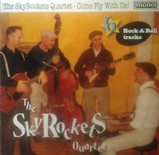 "SKYROCKETS QUARTET 10""-COME FLY WITH US- NEW SPANISH ROCKABILLY TORNADOS LISTEN"