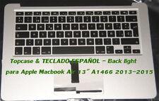 """Topcase & Teclado ES para MacBook Air """"Core i7"""" 1.7 13"""" (2014) A1466 MF068LL/A"""
