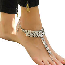 Flower Toe Ring Anklet (SKU -0740)