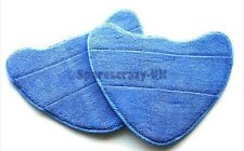 Microfibre Steam Mop Washable Cloth Pads to fit Vax Type 1 Vax models Pack of 2