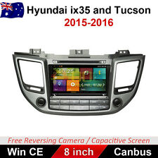 "8"" Car DVD GPS Multimedia Player Navigation for Hyundai ix35 Tucson 2015-2016"