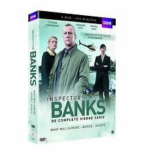 Inspector Banks : DCI Banks - Season 4 -   DVD - PAL Region 2 - New