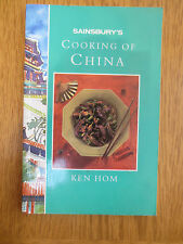 Cook Book Cooking of China Chinese Recipe Book Sainsbury's  Ken Hom