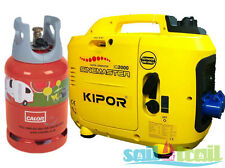 Kipor IG 2000 LPG Suitcase Inverter Generator - On Generator Kit