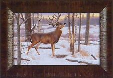 THE JORDAN BUCK - KING OF BUCKS COLLECTION by Cynthie Fisher 11x15 FRAMED PRINT