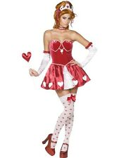 Sexy Fever Queen Of Hearts Costume Large UK 16/18 - Ladies Fancy Dress