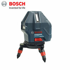 Bosch GLL 5-50X Self-Leveling 5 Line Laser Level Measuring Tool - 2016 New Ver.