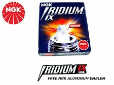 NISSAN NGK IRIDIUM IX SPARK PLUGS FOR 02-06 NISSAN ALTIMA 2.5L  FREE EMBLEM KIT