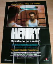 HENRY - PORTRAIT OF A SERIAL KILLER original Kino Plakat Spanien