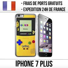 Coque iPhone 7 Plus - Game Boy Color Jaune Pikachu