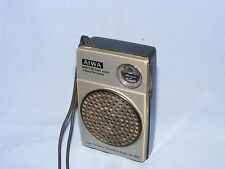 Vintage AIWA AR-999 Mini Portable Radio, LW & MW Pocket Radio, Made in Singapore