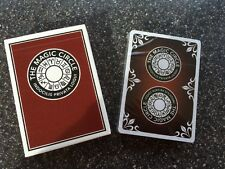 Official The Magic Circle Indocilis Privata Loqui Playing Cards limited run 2016