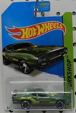 PLYMOUTH ROADRUNNER GTX GREEN ACCEL DRAG RACING CAR 1971 71 MOPAR HW HOT WHEELS