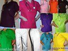 OP-Kleidung / Kasack/ Ärzte- Schwesternkleidung, Klinik Kittel Laborkittel bunt