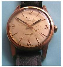 GENTS VINTAGE 30J MUDU DOUBLEMATIC WATCH. EARLY 1960's. FELSA 4000 MOVEMENT