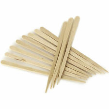 200 x Eyebrow Waxing Spatulas wooden facial lip chin wax thin small mini