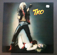 TKO - In Your Face Vinyl LP Record VG Condition 1984 Heavy Metal Europe Pressing