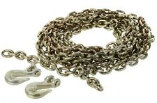 G70 Lashing/Drag Chain 9 Metre x 8mm Transport Recovery Tow Winch 4WD 4X4 Truck