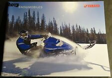2013 YAMAHA SNOWMOBILE FULL LINE SALES BROCHURE 48 PAGES  (086)