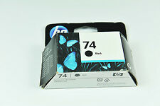 Genuine HP 74 BLACK and 2PK  HP 75 TRI-COLOR Ink Cartridges NEW SEALED