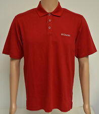 Columbia Sportswear Elm Creek Polo Shirt-Rouge M