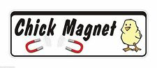Bumper Sticker Chick Magnet Pull funny Decal Graphic Vinyl Label