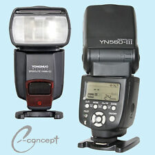 YONGNUO Flash Speedlite YN560 III YN-560 III for Sony a7R-II a7R a7S a7-II a7