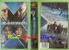 VHS film X-MEN 2 SIGILLATA 2003 20th CENTURY FOX 24224 SA (F26) no dvd