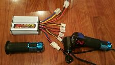 Scooter E Bike 24 volt Thottle and Controller Universal Kit