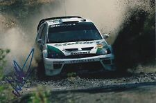 Matthew Wilson Hand Signed Stobart Ford Focus 9x6 Photo Rally.