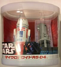 Star Wars - Remote Control R5-D4 w/ Mini Lightsaber - Japan Exclusive Very Rare
