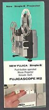 Pair of Fujica Camera & projector brochures 1970'S VINTAGE
