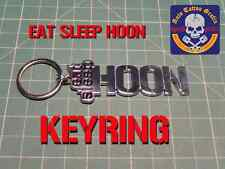 HUGE EAT SLEEP HOON KEY RING PERFECT GIFT FOR ANY GEAR HEAD COOL KEYRING