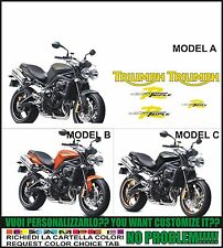 kit adesivi stickers compatibili trumph street triple r