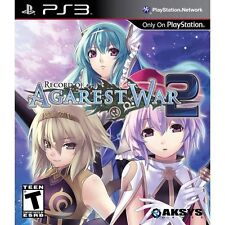 Sony PS3 Playstation 3 Spiel ***** Record of Agarest War 2 **************NEU*NEW