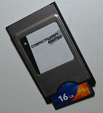 16 GB Compact Flash Speicherkarte + PCMCIA Adapter für Mercedes Comand APS