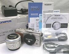 OLYMPUS PEN E-P2 + 14-42 mm Lens Original Box and others [Excellent] From Japan