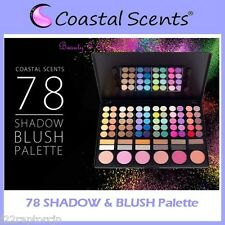 NEW Coastal Scents 78-Piece EYE SHADOW & BLUSH Palette FREE SHIPPING Face Powder