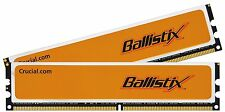 4GB (2x2GB) 800MHz Crucial Ballistix PC2-6400U CL4 Low Latency (BL25664AA80A)