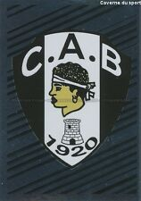 N°487 LOGO BADGE SCUDETTO # CA.BASTIA STICKER FOOT 2014 PANINI