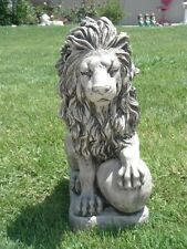 concrete plaster mold latex n fiberglass backup {LION}