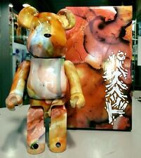 Medicom Be@rbrick 2015 Pushead 400% Marble Pattern Brian Schroeder Bearbrick 1pc