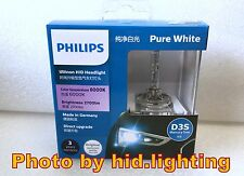 US Genuine Philips 6000K Ultinon Flash Pure White D3S HID XENON Bulb lamp 35W