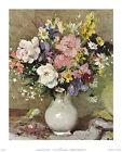 Marcel Dyf Blumen aus meinem Garten Poster Kunstdruck Bild 58,5x48cm - Portofrei