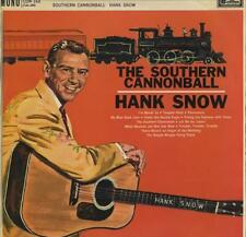 HANK SNOW The Southern Cannonball  RARE ORIGINAL 1962 UK 12-track mono vinyl LP