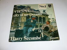 "HARRY SECOMBE - Vienna City of my Dreams - 1962 UK 2-Track 7"" EP vinyl single"